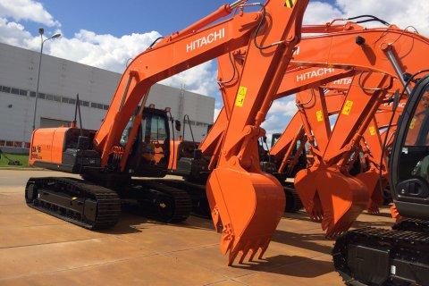Завод Hitachi в России готовится к запуску производства модели экскаватора ZX180LCN – 5G