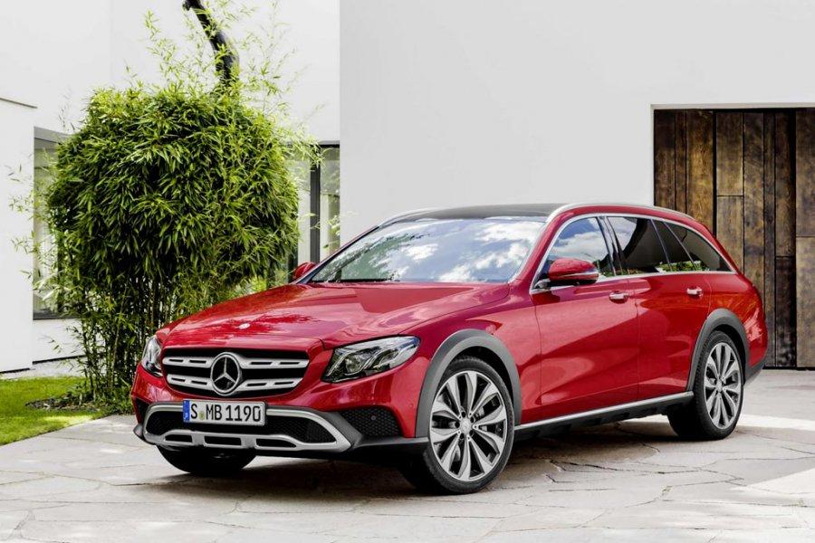 Benz предложит русским клиентам вседорожный автомобиль All-Terrain