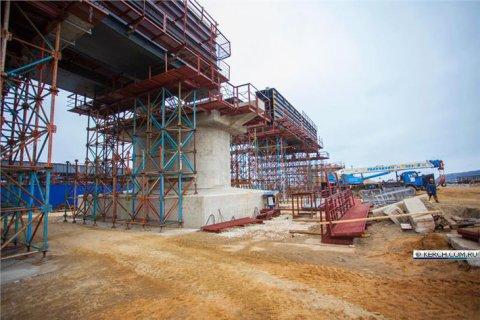 Новости строительства мостового перехода в Крым