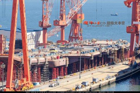Уже через три года Китай примет на вооружение второй авианосец