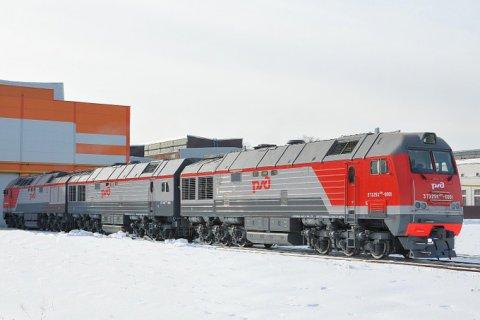 На Брянском машиностроительном заводе создан первый в России трехсекционный магистральный тепловоз