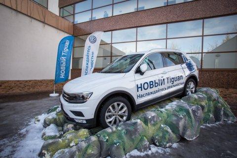 Фотоотчет с презентации НОВОГО Volkswagen Tiguan