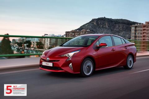 Первые автомобили Toyota Prius четвертого поколения уже прибыли в 11 дилерских центров
