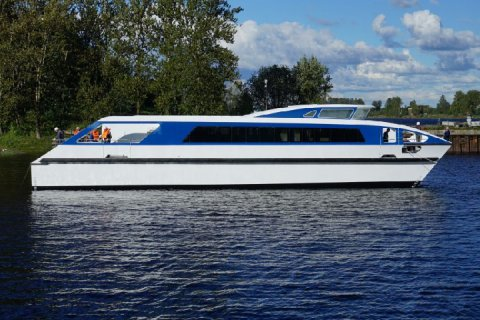 Проекты новых пассажирских судов представил НСЗ на Петербургском МЭФ