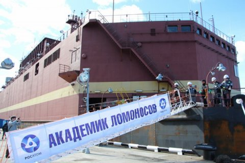 В Мурманске идет загрузка ядерного топлива в реакторы первой российской плавучей АЭС