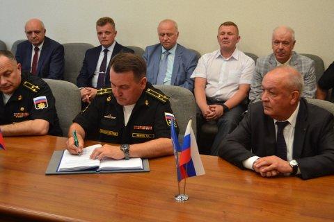 Подписан приемный акт государственных испытаний фрегата «Адмирал флота Советского Союза Горшков»