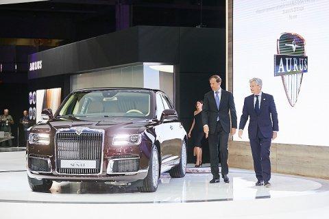Мировая премьера AURUS SENAT и AURUS SENAT Limousine