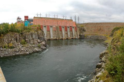 Самая северная ГЭС России наращивает мощность