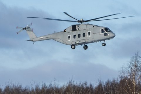 Первый образец вертолета Ми-38Т совершил свой первый полет