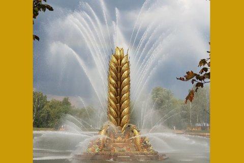 На ВДНХ вновь расцвёл «Золотой колос»