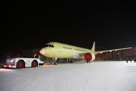 Третий самолет МС-21-300 передан для проведения летных испытаний