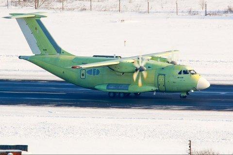 Первые кадры рулежки нового транспортника Ил-112