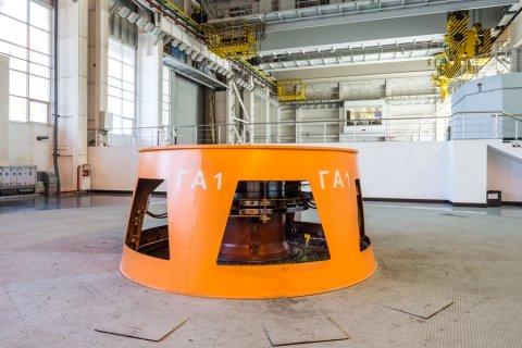 На Белореченской ГЭС введен в эксплуатацию гидроагрегат №1