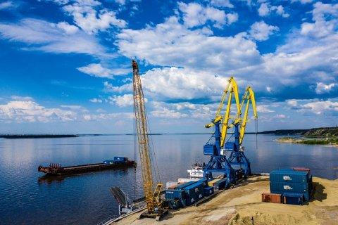 Грузовой терминал в поселке Нижний Бестях станет новыми речными воротами Заполярья