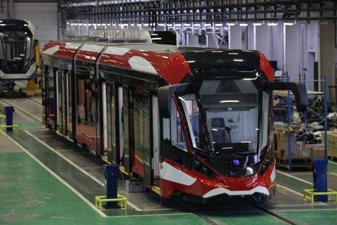 В Санкт-Петербурге появятся уникальные отечественные трамваи «Витязь-Ленинград» с алюминиевым кузовом