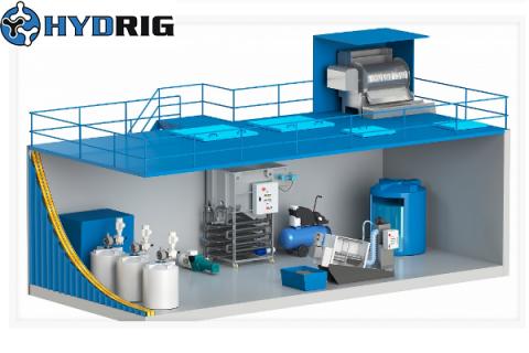 Российское оборудование для промышленных и хозяйственно-бытовых очистных систем от компании Гидрикс