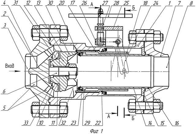 Известный клапан позволяет снизить усилия, необходимые для перемещения запорного элемента, с одновременным повышением...